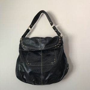Maxx New York black Shoulder leather bag